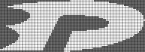 Alpha Friendship Bracelet Pattern #1083