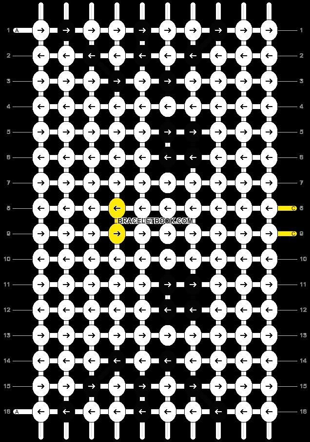 Alpha pattern #1089 pattern