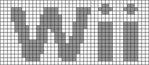 Alpha Friendship Bracelet Pattern #1091