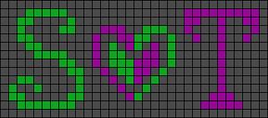 Alpha Friendship Bracelet Pattern #1094