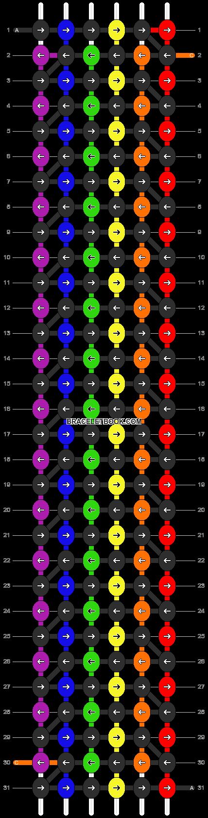 Alpha pattern #1095 pattern