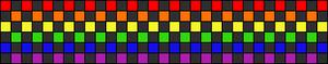Alpha Friendship Bracelet Pattern #1095