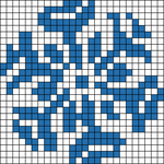 Alpha Friendship Bracelet Pattern #1097