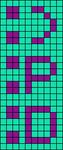 Alpha pattern #1106