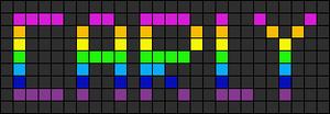 Alpha pattern #1111