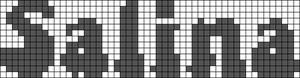 Alpha pattern #1121