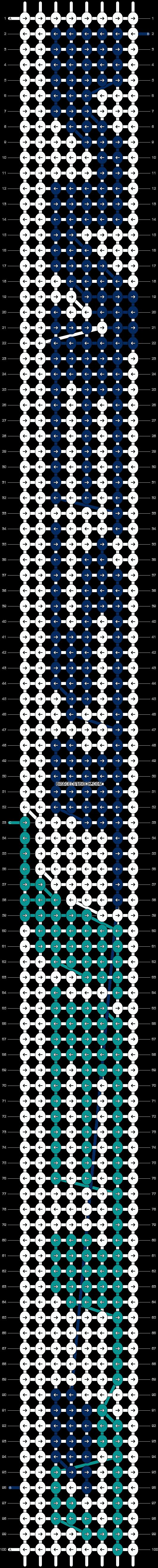 Alpha pattern #1123 pattern