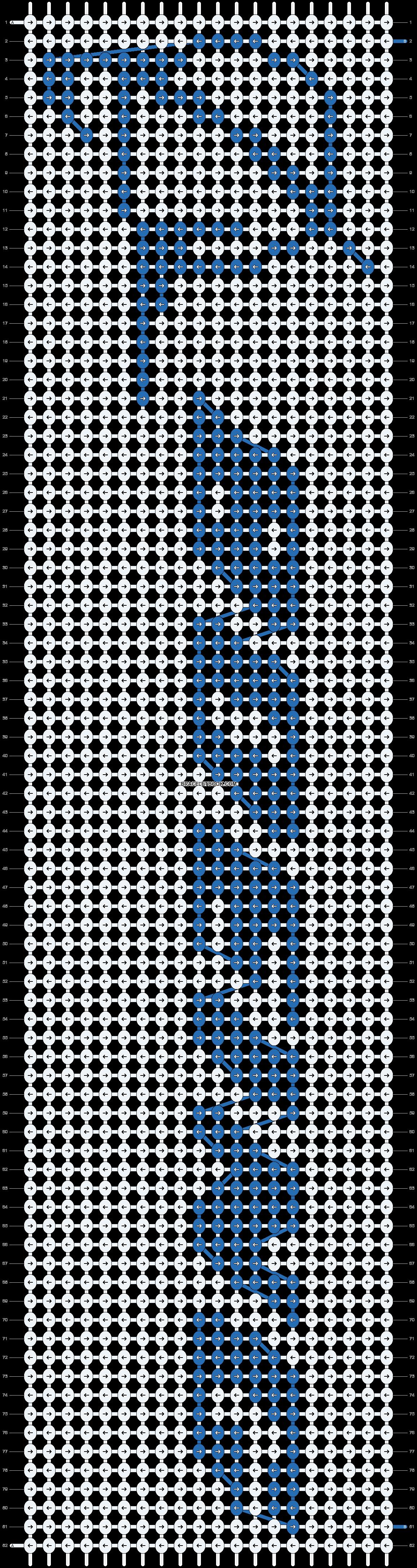 Alpha pattern #1127 pattern
