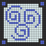 Alpha pattern #1130