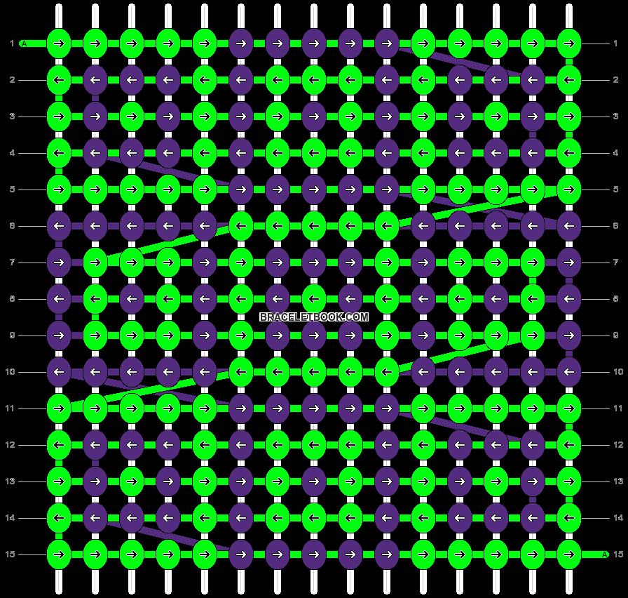 Alpha pattern #1147 pattern