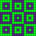 Alpha pattern #1147