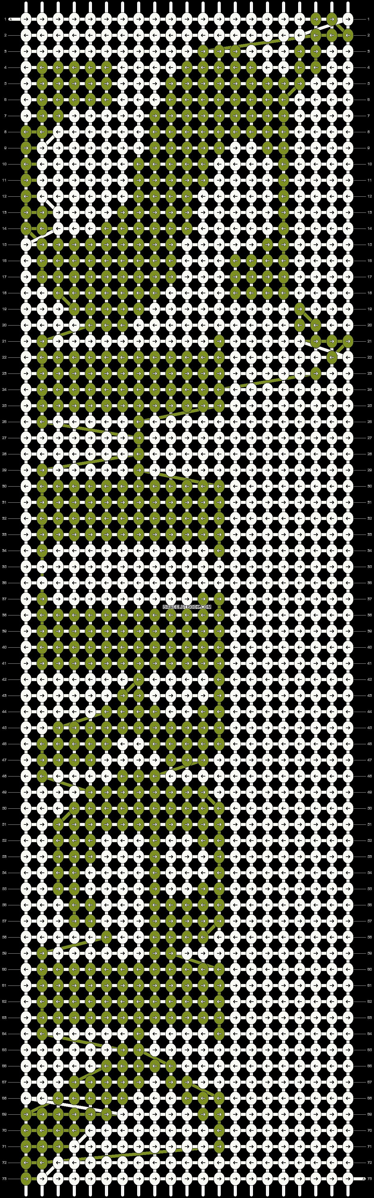 Alpha pattern #1173 pattern