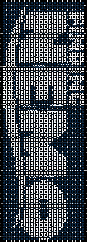 Alpha pattern #1174 pattern