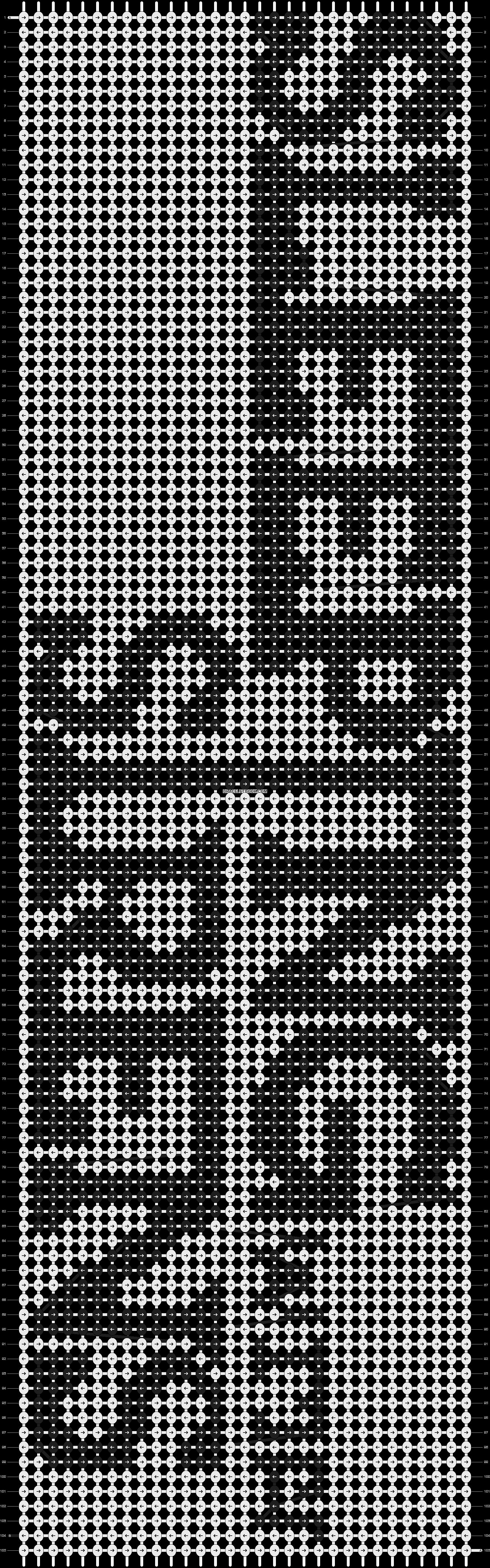 Alpha pattern #1176 pattern