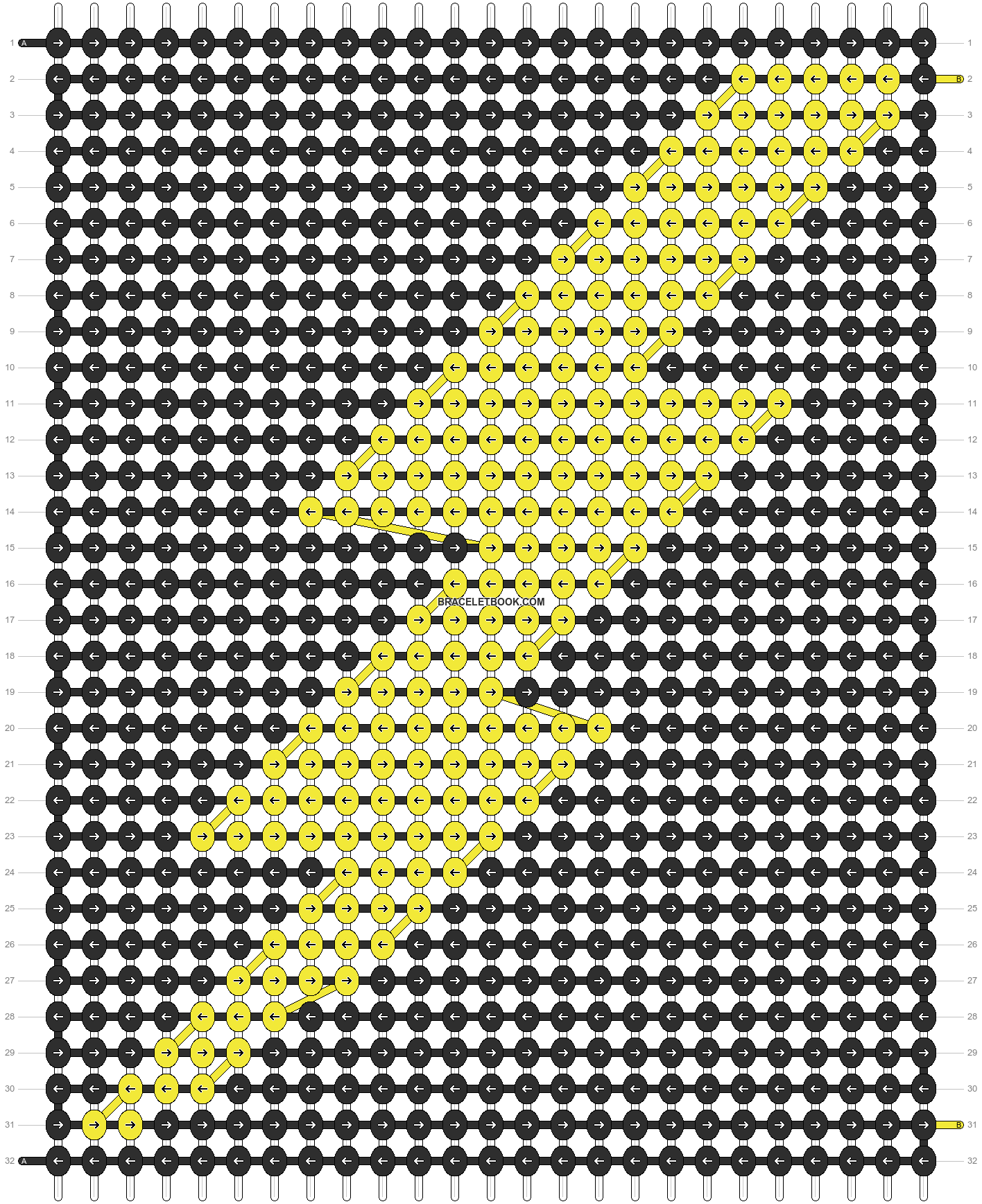 Alpha pattern #1178 pattern