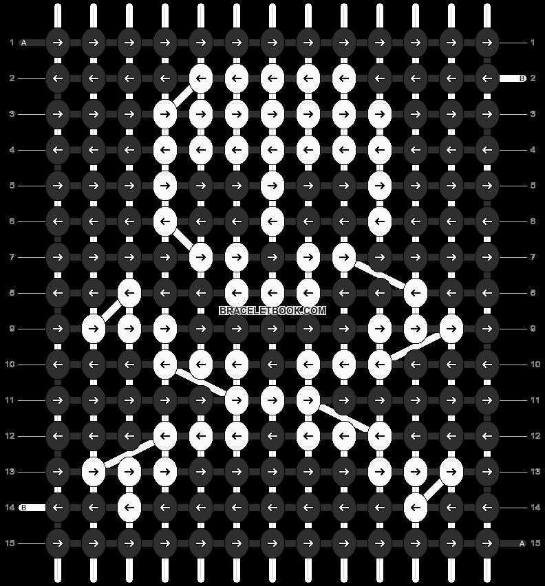 Alpha pattern #1179 pattern