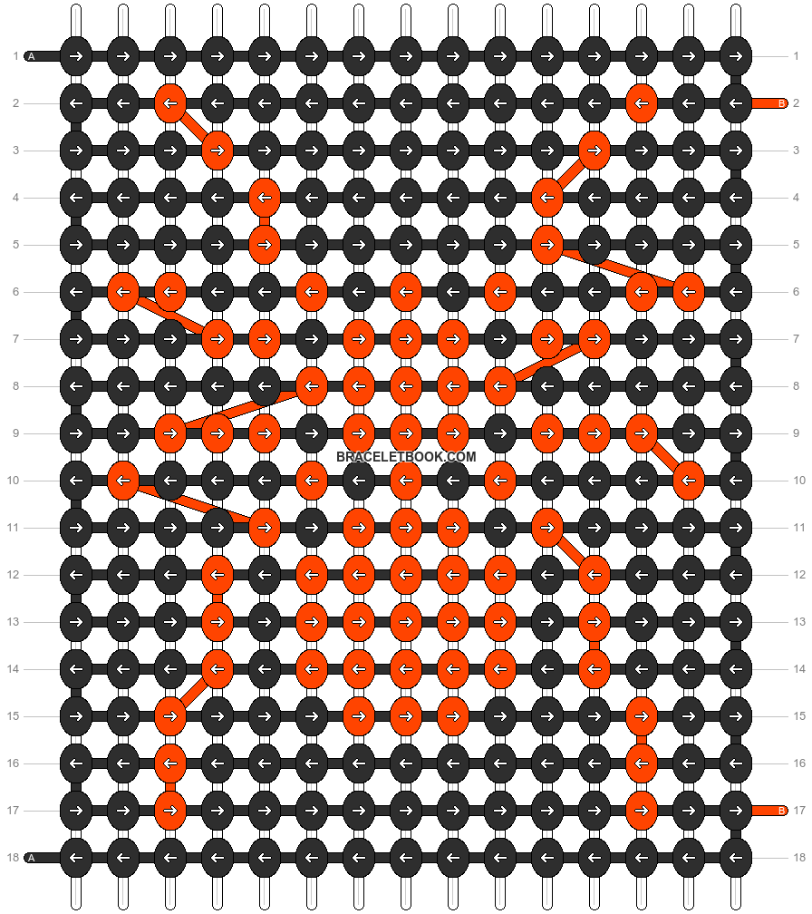 Alpha pattern #1186 pattern