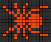Alpha Friendship Bracelet Pattern #1186