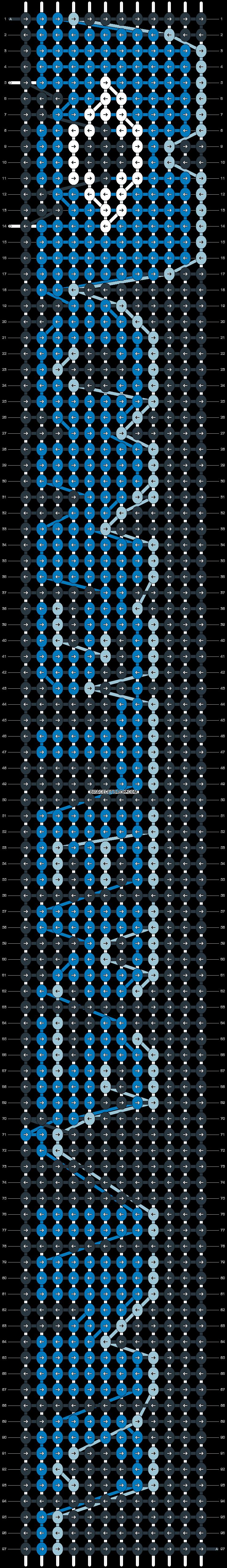 Alpha pattern #1196 pattern
