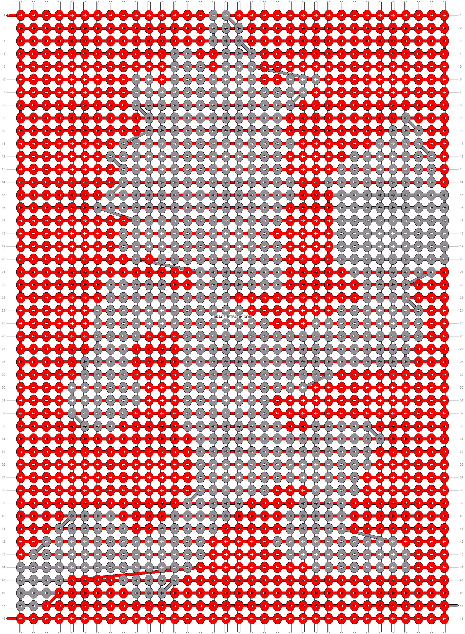Alpha pattern #1201 pattern