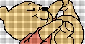 Alpha Friendship Bracelet Pattern #1209