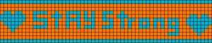 Alpha Friendship Bracelet Pattern #1214