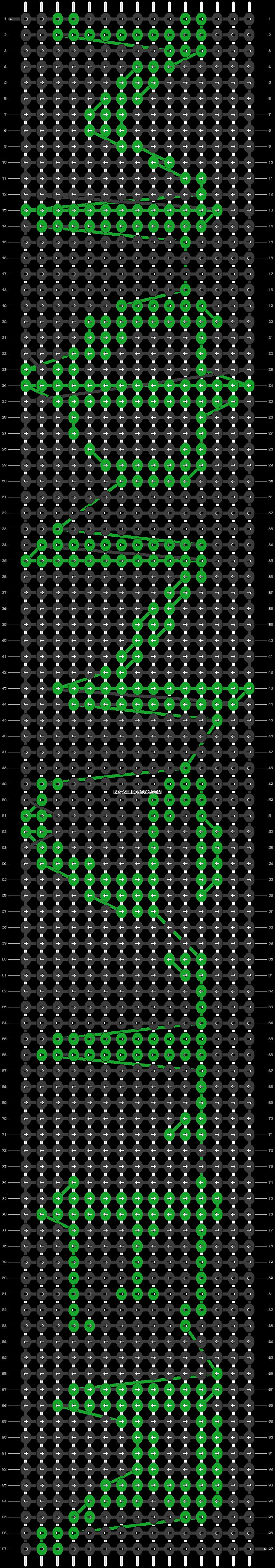 Alpha pattern #1217 pattern