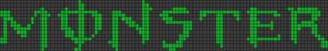 Alpha Friendship Bracelet Pattern #1217