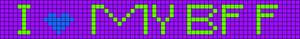 Alpha Friendship Bracelet Pattern #1218