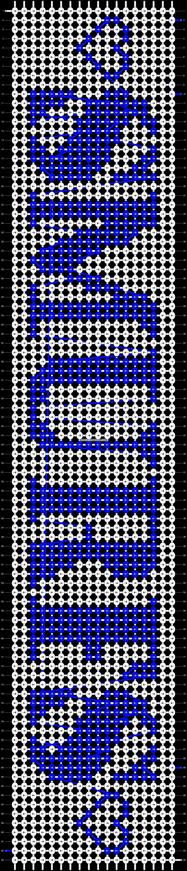 Alpha pattern #1219 pattern