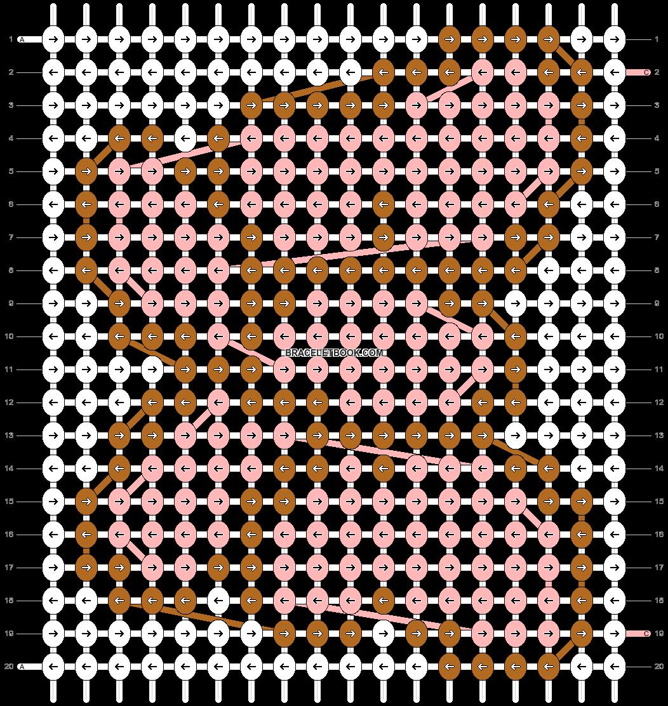 Alpha pattern #1223 pattern
