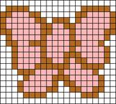 Alpha Friendship Bracelet Pattern #1223