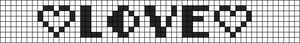 Alpha pattern #1260