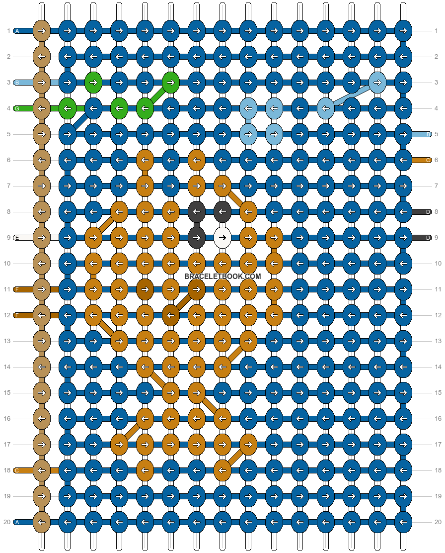 Alpha pattern #1261 pattern