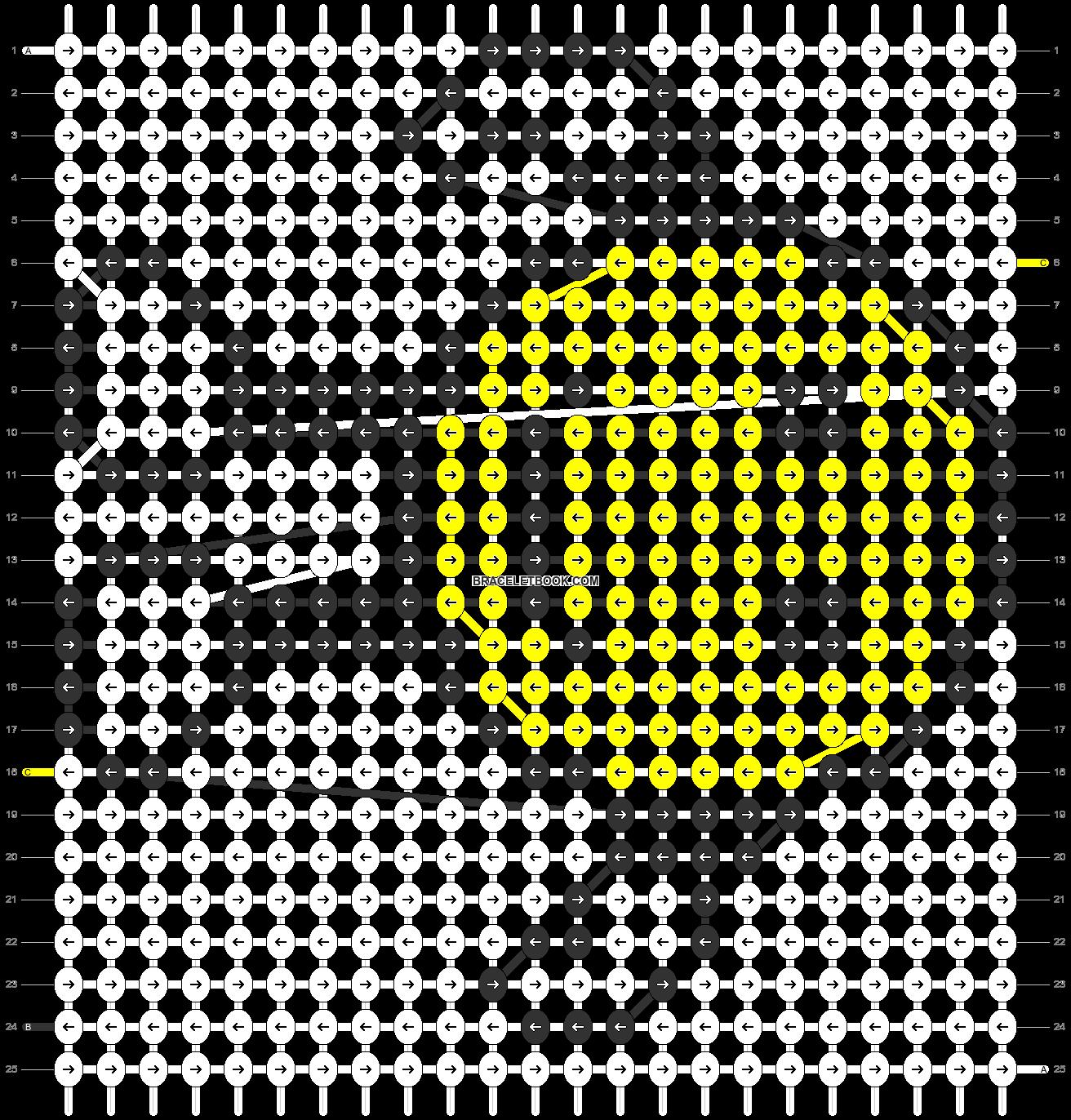 Alpha pattern #1276 pattern