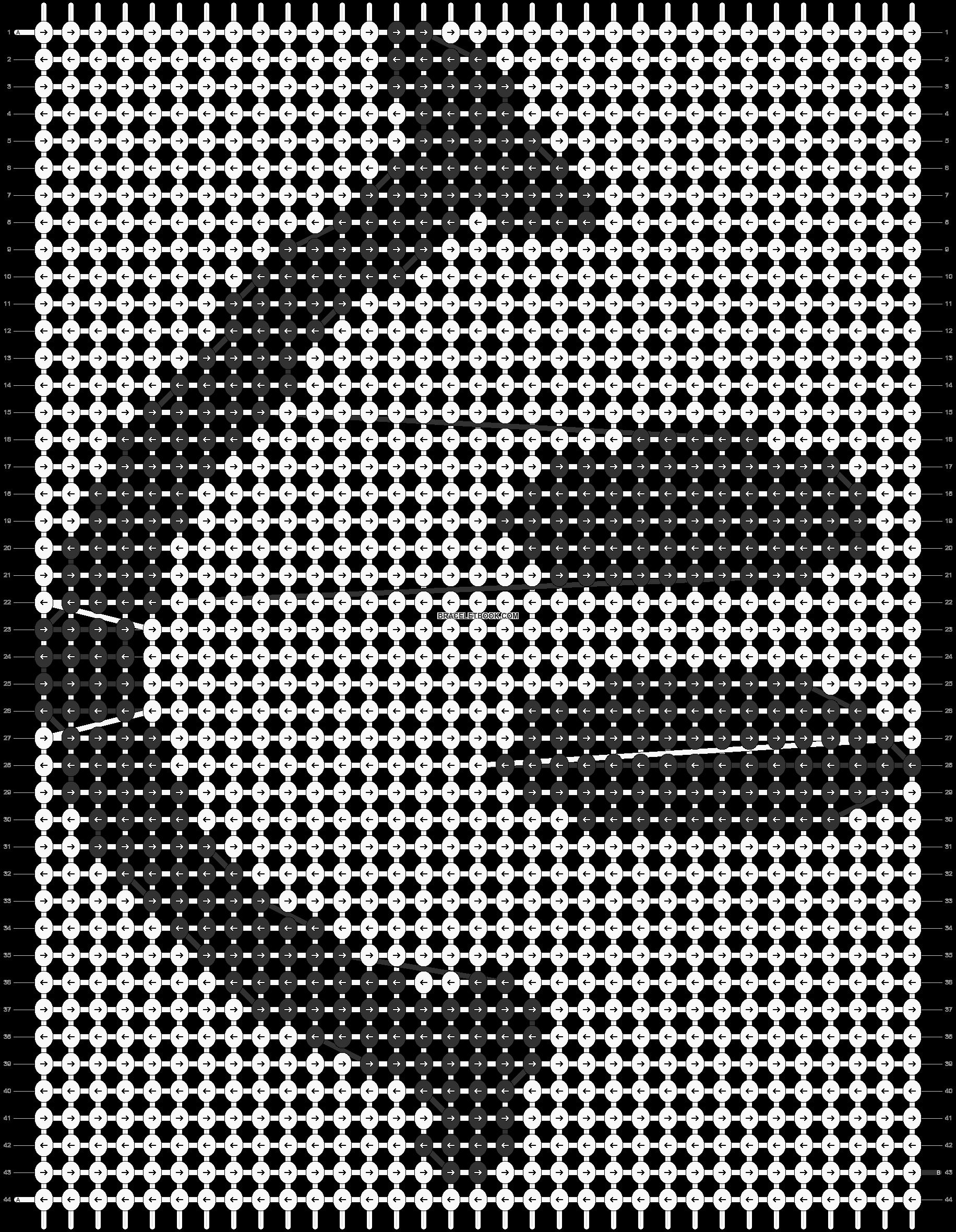 Alpha pattern #1277 pattern