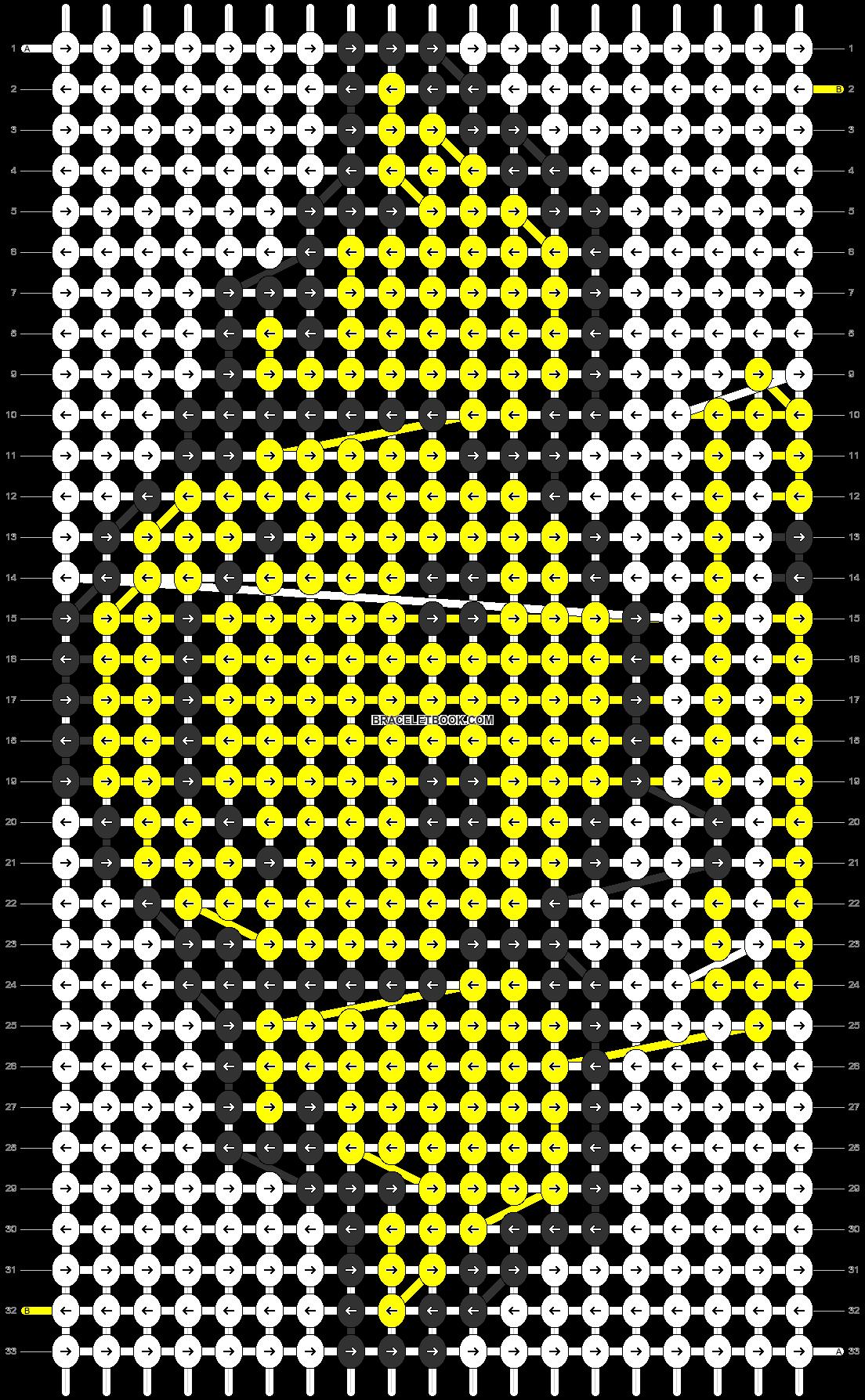 Alpha pattern #1278 pattern