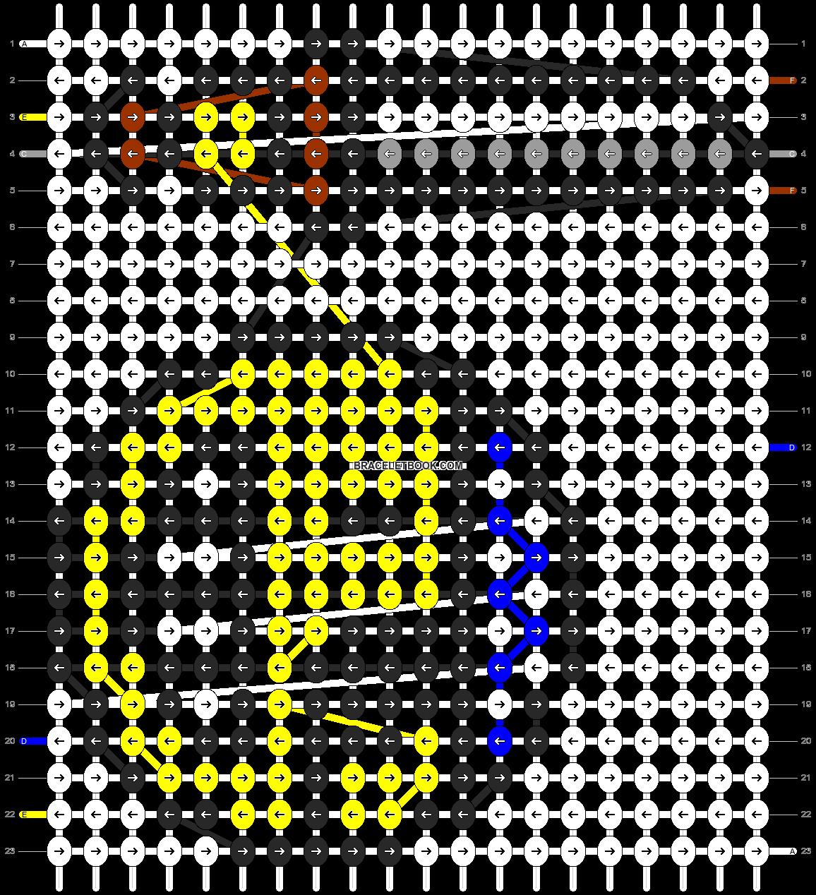 Alpha pattern #1279 pattern
