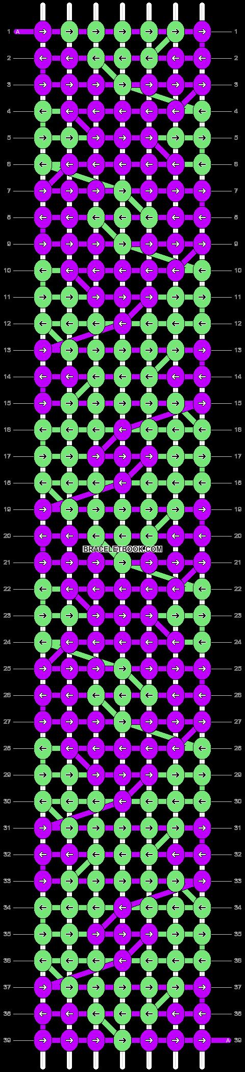 Alpha pattern #1291 pattern