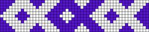 Alpha Friendship Bracelet Pattern #1292