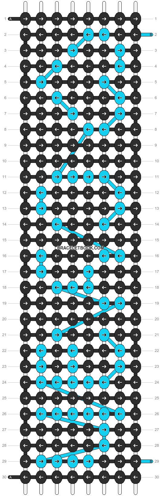 Alpha pattern #1294 pattern