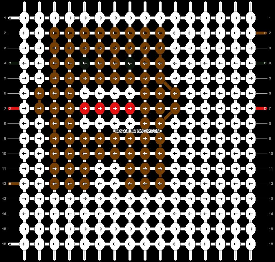 Alpha pattern #1296 pattern