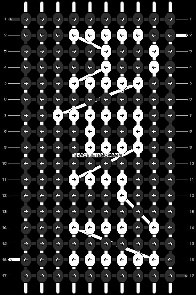 Alpha pattern #1299 pattern