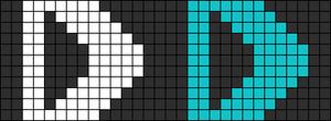 Alpha Friendship Bracelet Pattern #1306