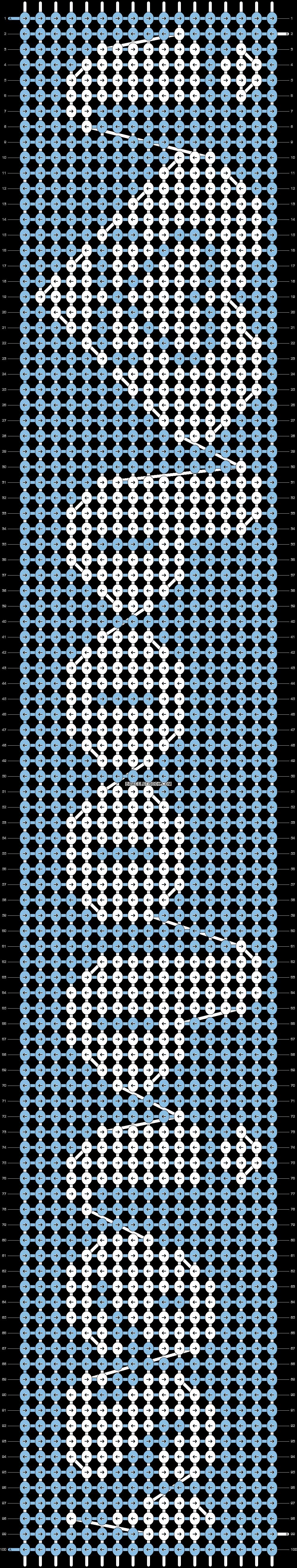 Alpha pattern #1317 pattern