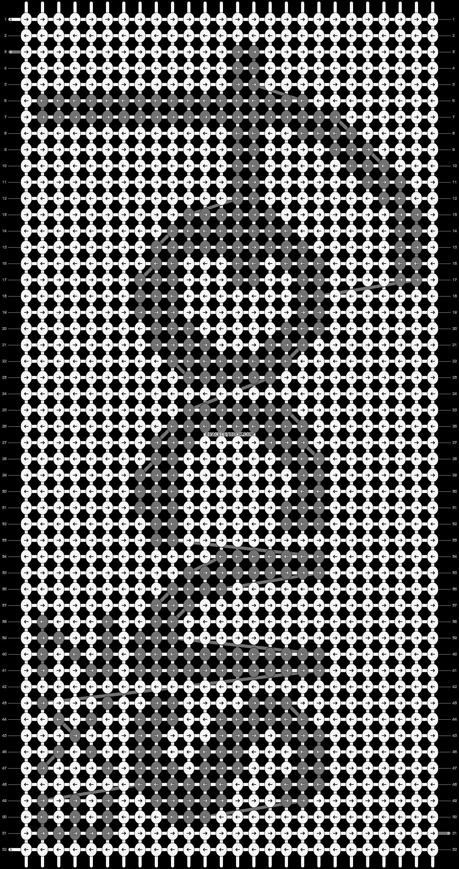 Alpha pattern #1320 pattern