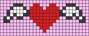 Alpha Friendship Bracelet Pattern #1328
