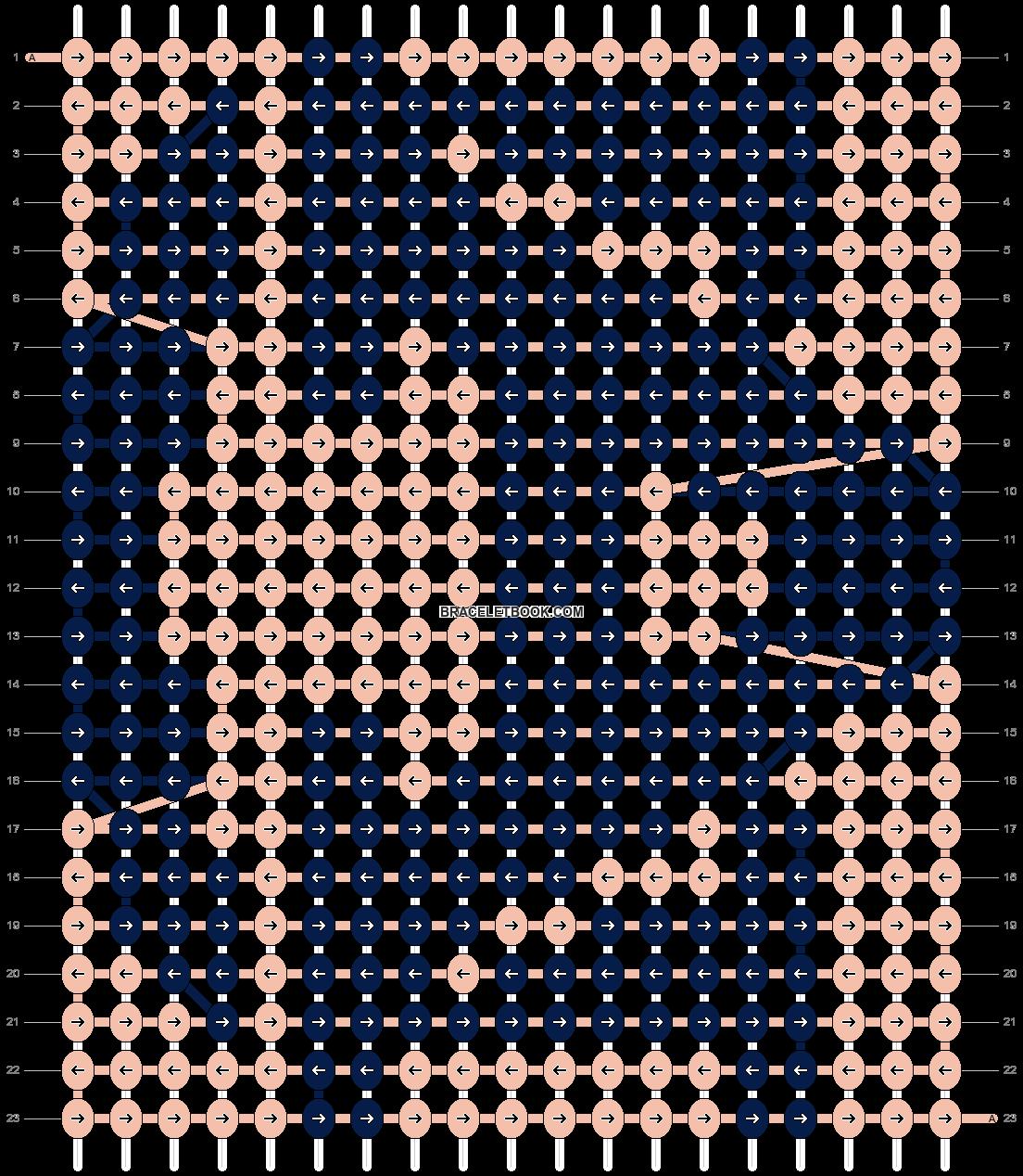 Alpha pattern #1339 pattern