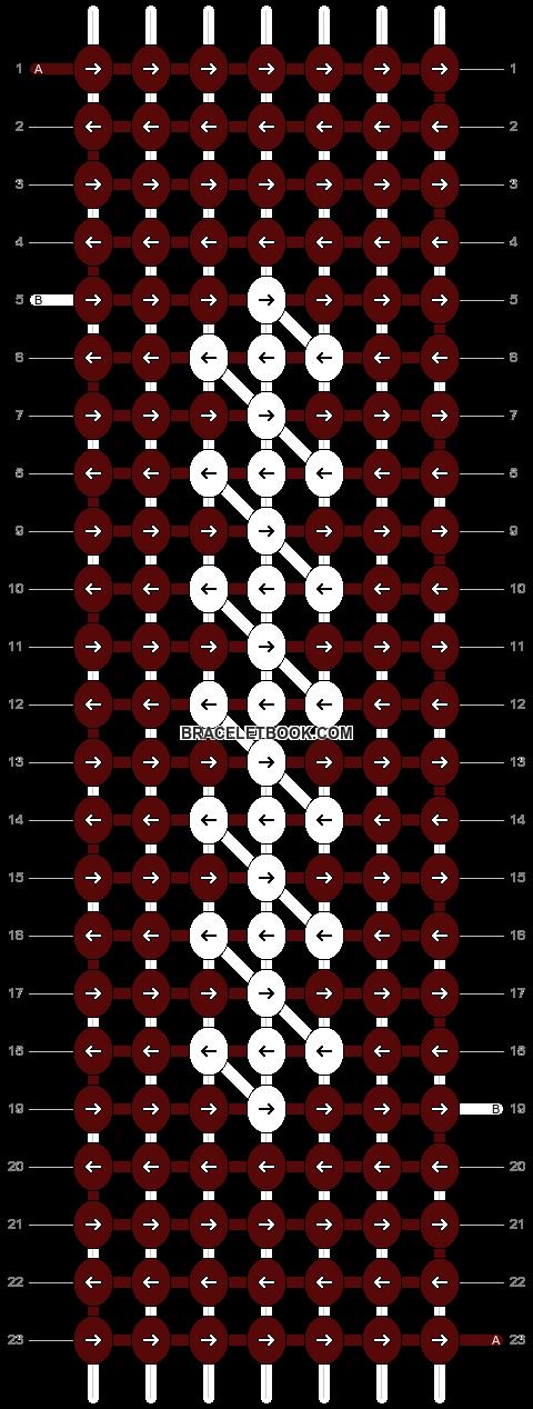Alpha pattern #1347 pattern