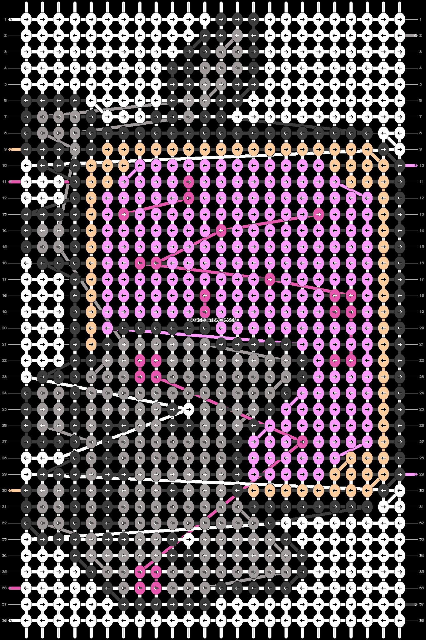 Alpha pattern #1371 pattern